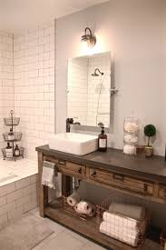 Pottery Barn Bathroom Sink Faucets Barn Tin Bathroom Country Homes Pinterest Pottery Sussex Triple Sconce Bitdigest Design Bathroom Bed Bath Fniture Monogrammed New York 11 Terrific Vanities For Inspiration Our Vintage Home Love Master Redo Featuring Reclaimed Wood Cabinets Crate And Barrel Vanity Cabinet Cldcepartnershipsorg Bathrooms Restoration Sinks Style Farm Sink Console Look