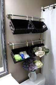 21 brilliant bathroom storage hacks korb badezimmer