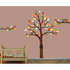 100 Tree Branch Bookshelves Two Shelf Wall Decals Color Me Happy
