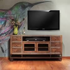 Urban Gold 76 Industrial Style TV Console