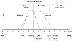 Viral Shedding Herpes Simplex by Herpes Varicella And Rubella Glowm