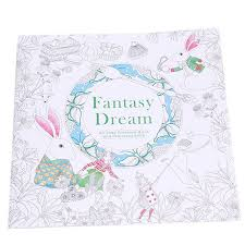 Hang Qiao Secret Garden Nella Fantasia Coloring Book Black And White Lazada PH