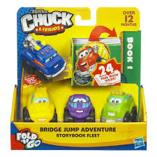 Tonka Chuck & Friends Fold 'N Go Mini Vehicle 4-Pack With Book ... Tonka Playskool Chuck Friends Dump Fire Emergency Trucks Garbage Talkin My Talking Dump Truck Says Over 40 Phrases Moves Amazoncom Interactive Rumblin Toys Games And Friends Race Along Chuck Gamesplus Interframe Media Die Cast Truck For Use With Twist Trax Hasbro The 1999 Toy And Get To Work Book 50 Similar Items Btsb Playskool Race Along Power Play Yard Chuck Dump Babies