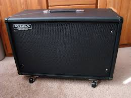 Mesa Boogie Cabinet 2x12 by Mesa Boogie 3 4 Back Guitar Amp Cabinet W Black Shadow 2x12 Reverb