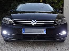 pack led daytime running lights for volkswagen passat b8 without xenon