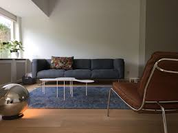 rod sofa and frog lounge chair by living divani wohnzimmer