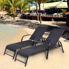 In Pool Lounger Lounge Chairs Water Chaise Indoor Winnett Zero Gravity With Cushion