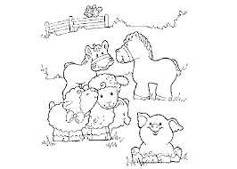 Zoo Animal Coloring Pages Baby Animals Printables