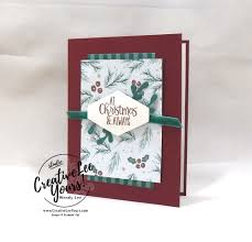 At Christmas By Wendy Lee Printable Tutorial Stampin Up Creativeleeyours Hand