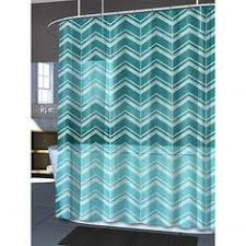 Blue Chevron Bathroom Set by Blue White Brown 15 Piece Bathroom Set 2 Rugs Mats 1 Fabric