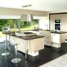 modele de cuisine equipee ilot central cuisine avec table cuisine acquipace avec ilot