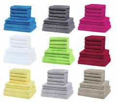 badetuch handtuchset fürs badezimmer günstig kaufen ebay