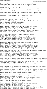 Woody Guthrie Song - Tom Joad, Lyrics And Chords On The Flipside November 2013 Mr Record Man Gram Parsons Lone Star Music Magazine Wanna Help Me With My School Project On The Brony Subculture The Byrds Best Of Greatest Hits Volume Ii Truck Drivin By Buck Owens Pandora Wigglepedia Fandom Powered Wikia Glen Campbell Driving Lyrics Genius Listen Free To Toby Keith Radio Iheartradio Nuthin Fancy Lynyrd Skynyrd Tribute Country Musictruck Manbuck And Chords Shound Rock Island Line Weavers Bob Wayne Mack