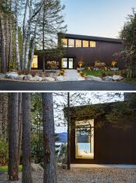 100 Modern Lake House This Modern Lake House In Canada Has An Exterior Clad In