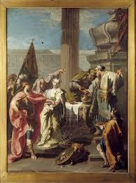 The Sacrifice Of Polyxena At Tomb Achilles