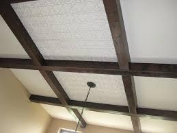 Staple Up Ceiling Tiles Canada by Amazon Com Ceiling Tile 142 White Matt Glue Up Plastic 2x2 Fire