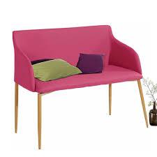polsterbank in pink kunstleder 100 cm breit