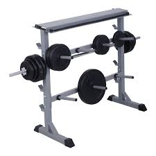 Shop Gymax Fitness Power Rack W Lat Pull Attachment Weight Holder