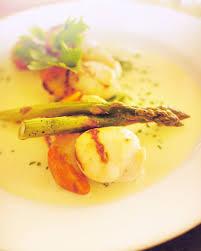 cuisine asperge recette jacques aux asperges sauce hollandaise