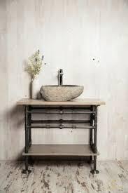 waschtisch unterschrank wasserrohr stahlrohr vintage loft industrie