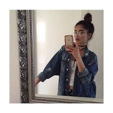 Denim Jacket Outfits Kylie Jenner Instagram Girls Winter Girl Fashion Feminine Wear