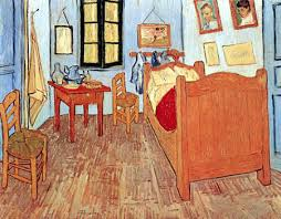vincents schlafzimmer in arles vincent gogh