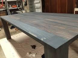 How To Build A DIY Farmhouse Dining Room Table
