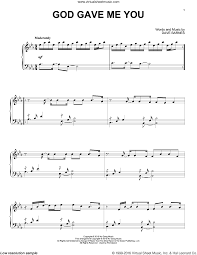 Shelton - God Gave Me You Sheet Music For Piano Solo Dave Barnes Wikipedia Matt Wertz God Gave Me You Dallas Tx 32815 Blake Shelton Official Video Christian Music Hunter Hayes Cma Street Party Nashville Tn Piano Sheet Teaser Youtube Sheet Music For Piano Solo Klove Live By Pandora And Kelsea Ballerini Debut New Song At Tin Pan South Dave Barnes God Gave Me You 18 Images Of Stories Nic Instructional Lesson Learn How To Play Is Getting Older Sotimes Wiser