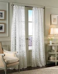 Lace Curtains Panels With Attached Valance by Royale Lace Curtains White Lorraine View All Curtains White Lace