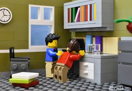 Cute Living Room Ideas For College Students by Lego Grad Student