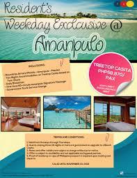 100 Amanpolo Amanpuloflyer The Travel Guru Inc