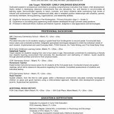 Best Resume Examples New Recent College Graduate Resume Template