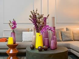 Image Of Paint Decorative Vases For Living Room