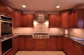 Kitchen Ideas Cherry Cabinet Which Invites Everybody