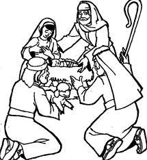 The Saviors Birth Bible Christmas Story Coloring Pages