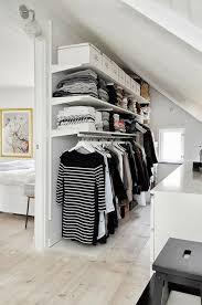 begehbarer kleiderschrank für kleines zimmer ideen tipps