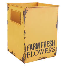 100 Fresh Home And Garden Foreside And Farm Flower Tin