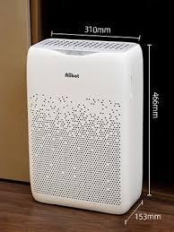 aiibot luftreiniger mit h13 hepa und aktivkohlefilter für wohnung schlafzimmer ionisator timer 55 leise schlafmodus luftfilter gegen staub rauch