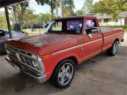 100 1975 Ford Truck For Sale F100 For ClassicCarscom CC1122855