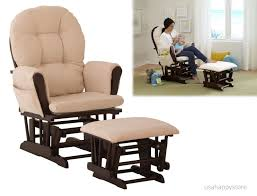 Poang Rocking Chair For Nursing by Glider Rocking Chair With Ottoman Design Home U0026 Interior Design