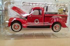 MINI FORD FIRE Truck - Texaco Advertising - Cert Of Authenticity ...