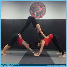 Photo Gallery Of Yoga Poses With Friends