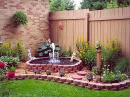 Outdoor Garden Fountains Implausible Ideas Cool Small Water Flow