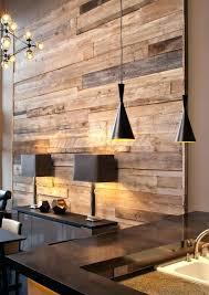 dekostile holz wohnzimmer palettenwand wandgestaltung