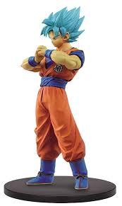 Banpresto Dragon Ball Warriors Volume 4 Super Saiyan Blue Goku Dxf Figure