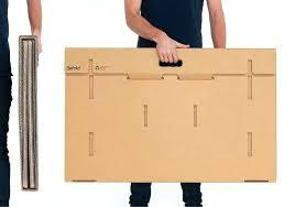 Desk Refold Portable Cardboard Standing Desk 4 Portable Standing
