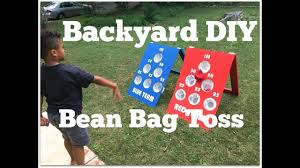How To Make A DIY Bean Bag Toss Game