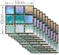 mosaik fliesenaufkleber selbstklebende klebefolie 3d fliesen