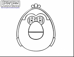 Extraordinary Angry Birds Star Wars Coloring Pages With And