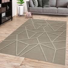 wohnzimmer teppich modernes rauten skandi design